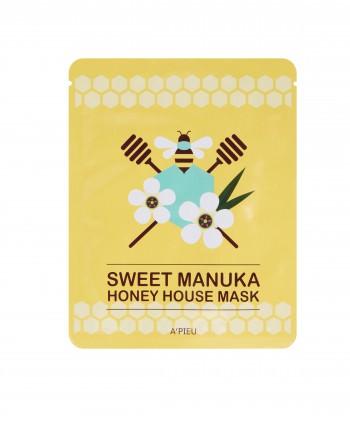 Sweet Manuka Honey House Mask- A'Pieu Italia - MoodySkin