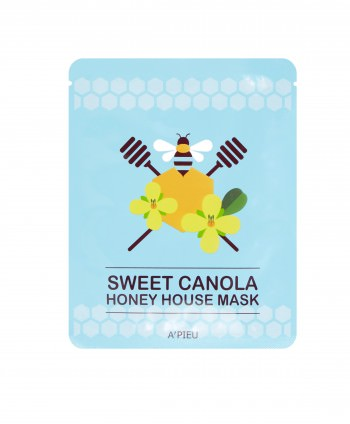 Sweet Canola Honey House Mask - A'Pieu Italia - Moodyskin