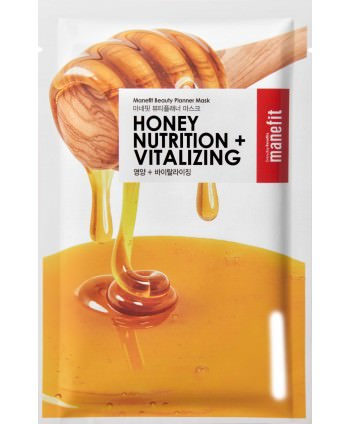 Beauty Planner Honey Nutrition + Vitalizing Mask - Manefit - Moodyskin