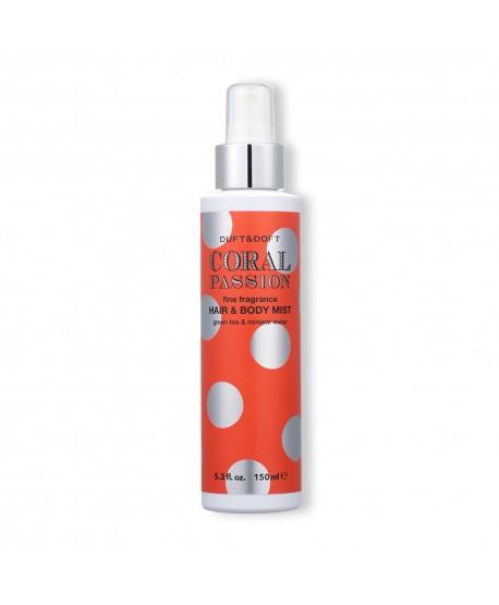 Mist Idratante Corpo e Capelli Coral Passion - Duft & Doft