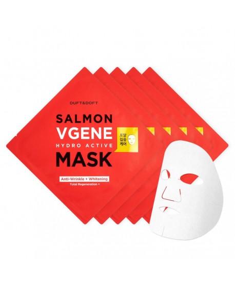 Maschera Viso In Foglio Idratante Salmon Vgene Duft&Doft