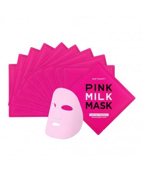 Maschera Viso In Foglio Illuminante Pink Milk Duft&Doft