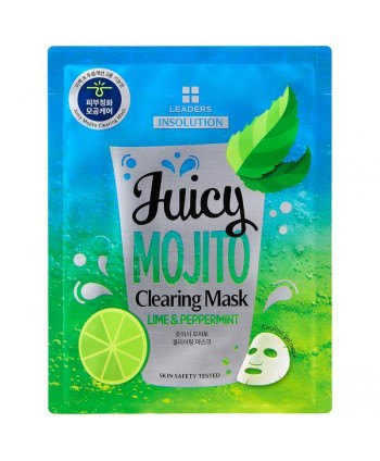 juicy Mojito Clearing Mask Leaders Italia MoodySkin