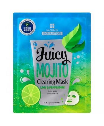 juicy Mojito Clearing Mask Leaders Italia MoodySkin
