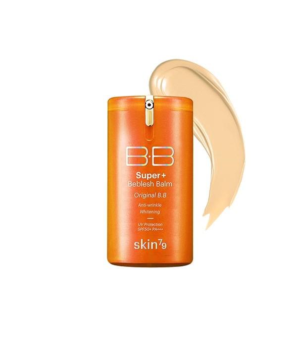 SKIN79 BB Cream Super Plus Beblesh Balm SPF 50+ PA+++ Orange - 40 g - Moodyskin