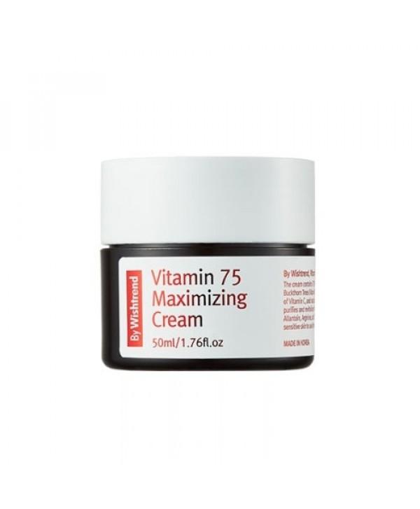 By Wishtrend Vitamin 75 Maximizing Cream - 50 ml - Moodyskin