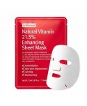 By Wishtrend Natural Vitamin C 21,5% Enhancing Sheet Mask - 23ml - Moodyskin