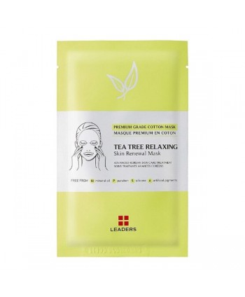 Leaders Tea Tree Relaxing Skin Renewal mask - 25 ml - Moodyskin