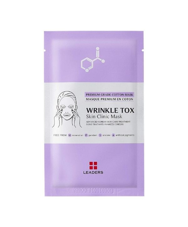 Leaders Wrinkle-Tox Skin Clinic mask - 25 ml - Moodyskin
