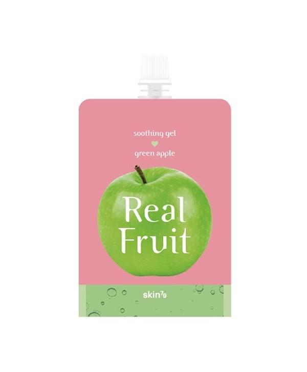 SKIN79 Real Fruit Soothing Gel Green Apple 300g - moodyskin