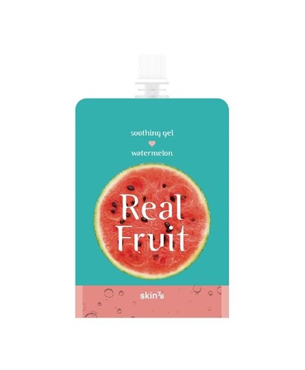 SKIN79 Real Fruit Soothing Gel Watermelon 300g - moodyskin