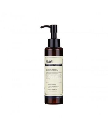 Klairs Olio Struccante Gentle Black Deep Cleansing Oil - 150 ml - Moodyskin