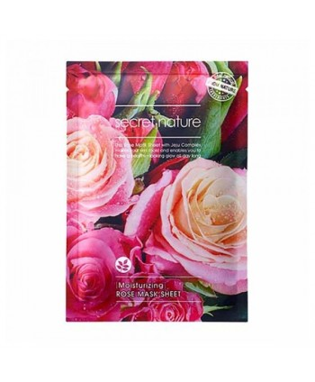 Secret Nature Moisturizing Rose Mask Sheet 25 gr